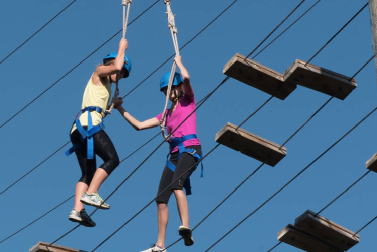 UWEC Ropes Course and Zip Line