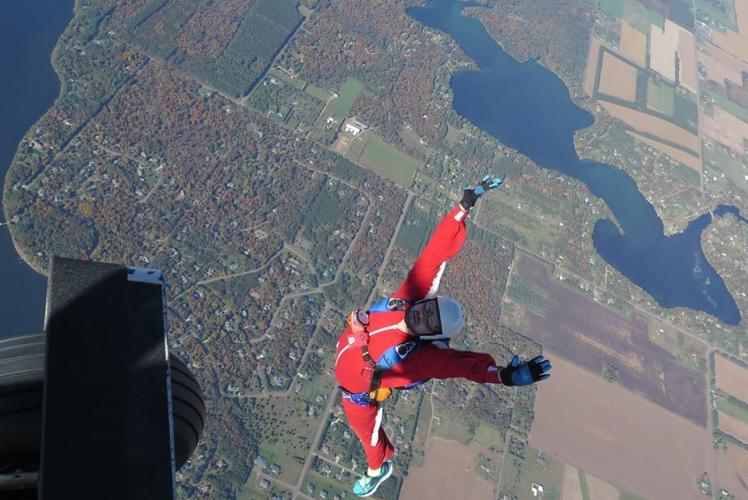 Skydive Wissota in Eau Claire, Wisconsin