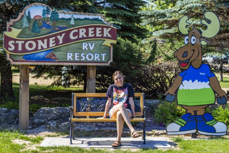 Stoney Creek entrance in Osseo, WI