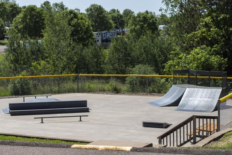Stoney Creek Skate Park in Osseo, WI