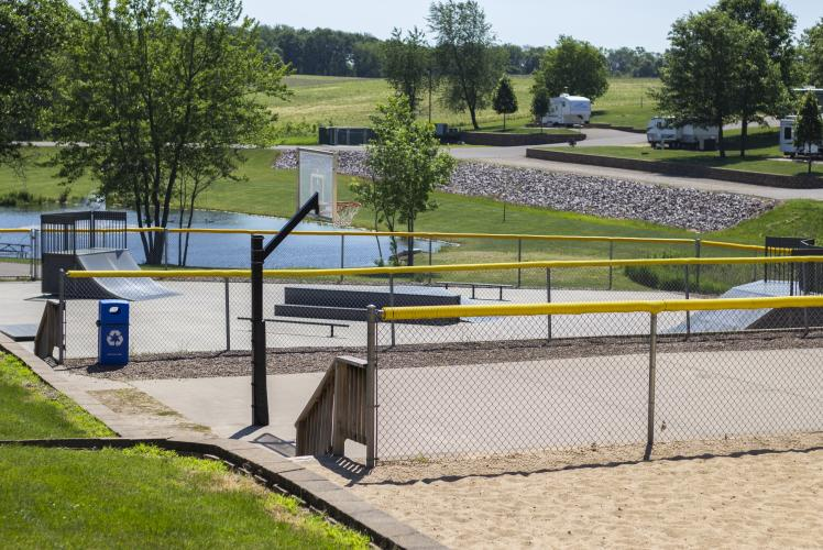 Stoney Creek Basketball Court in Osseo, WI
