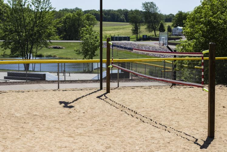 Stoney Creek Volleyball Court in Osseo, WI