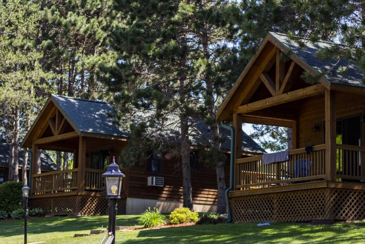 Stoney Creek cabins in Osseo, WI