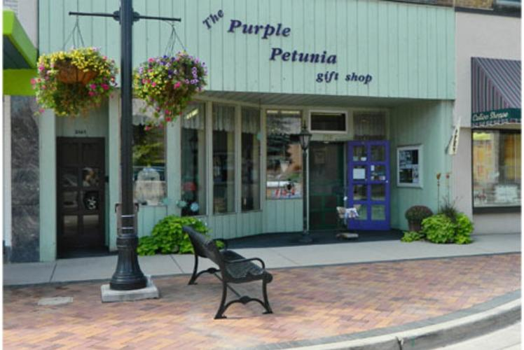 The Purple Petunia in Eau Claire, Wisconsin