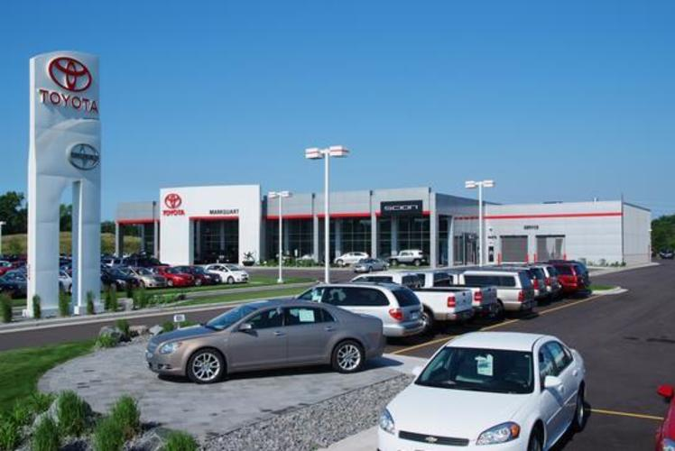Markquart Toyota Dealer in Chippewa Falls, Wisconsin