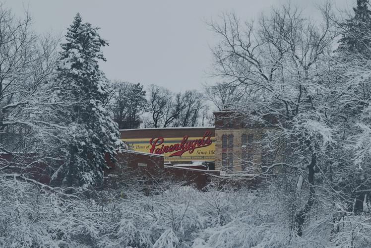LEINENKUGEL LODGE IN WINTER