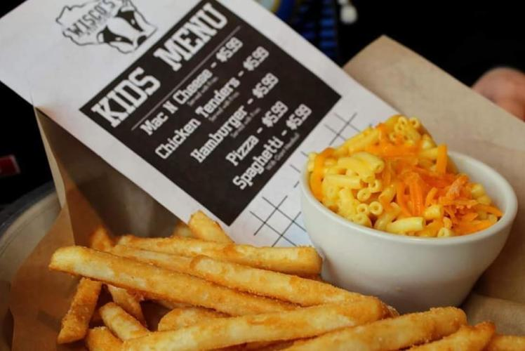 Wisco's Eau Claire Kid's Meal - Mac & Cheese