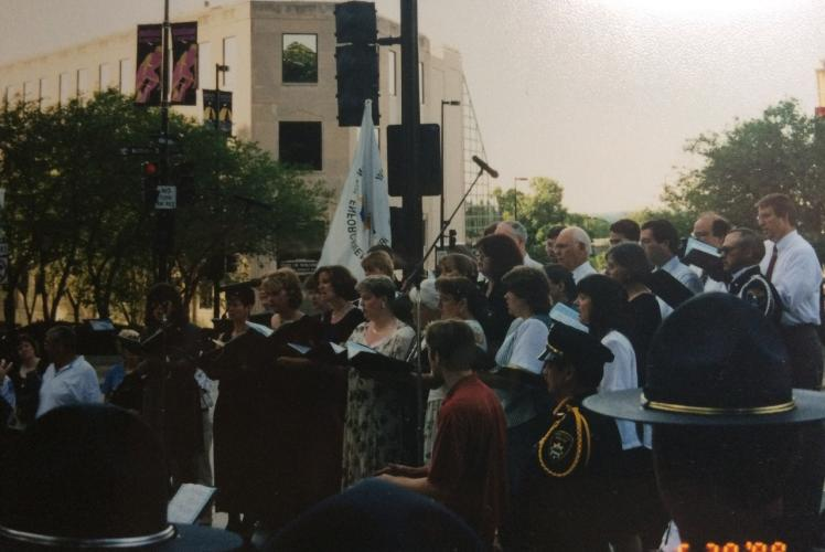 Wisconsin Law Enforcement Memorial Dedication, Madison WI - 1998