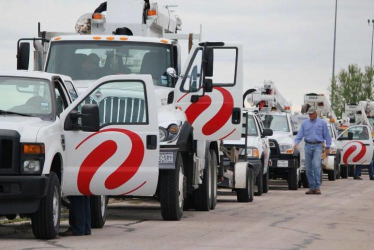 Xcel Energy Trucks