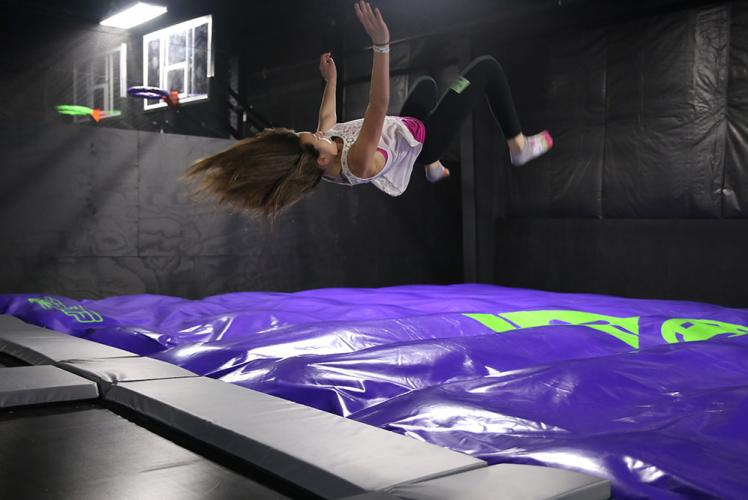 Action City Trampoline Park & Fun Center airbag