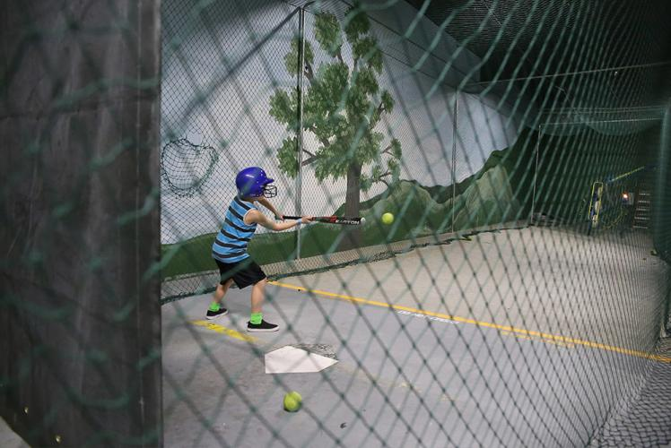 Action City Trampoline Park & Fun Center batting cages