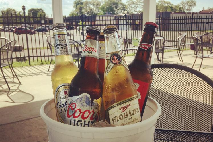 Westside Bar & Grill Beer Bucket