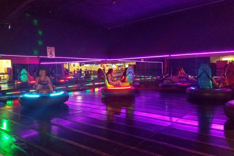 Action City Trampoline Park & Fun Center bumper cars