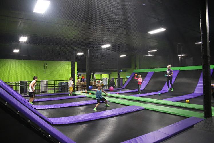 Action City dodgeball at Metropolis Resort