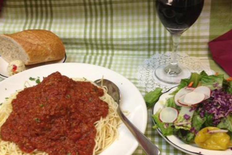 Draganetti's Ristorante  - Spaghetti