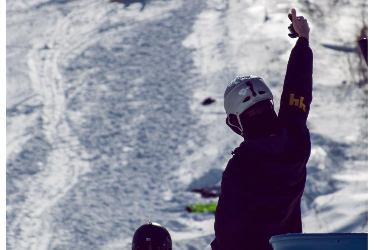 Jacob Taylor Photography - Snowboard Action Shot