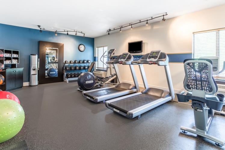 Hampton by Hilton fitness center