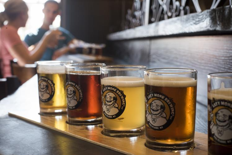 Lazy Monk Brewing in Eau Claire, WI