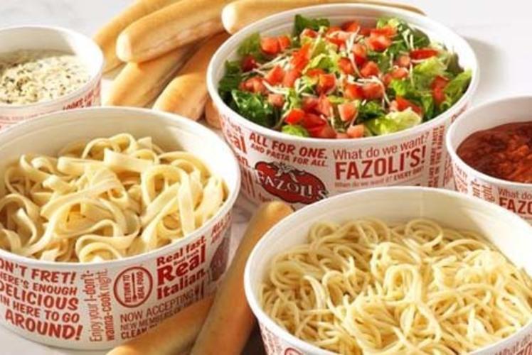 Fazoli's italian restaurant in Eau Claire, Wi