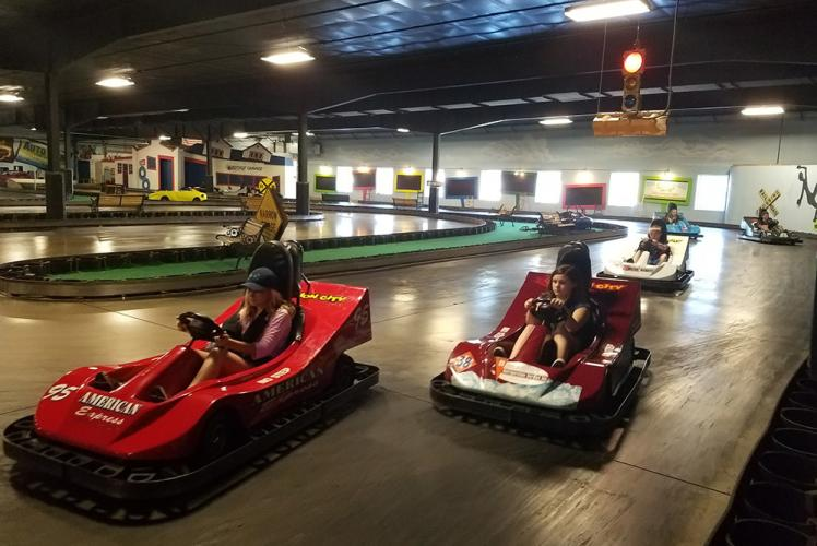 Action City Trampoline Park & Fun Center go karts