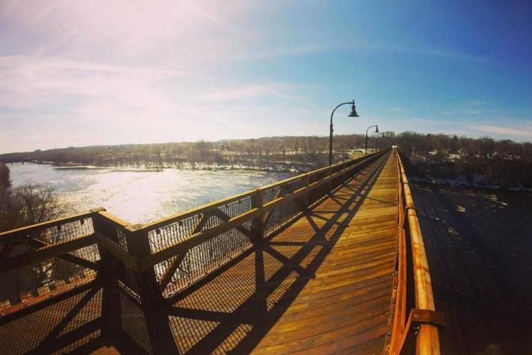 Eau Claire High Bridge in Eau Claire, Wisconsin