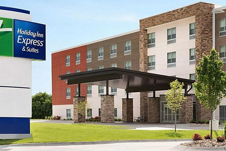 Holiday Inn Express Eau Claire West rendering