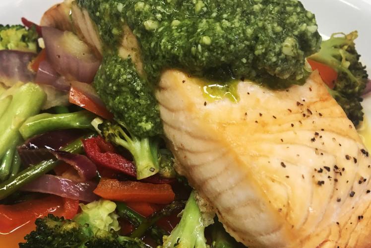 Draganetti's Ristorante - Salmon