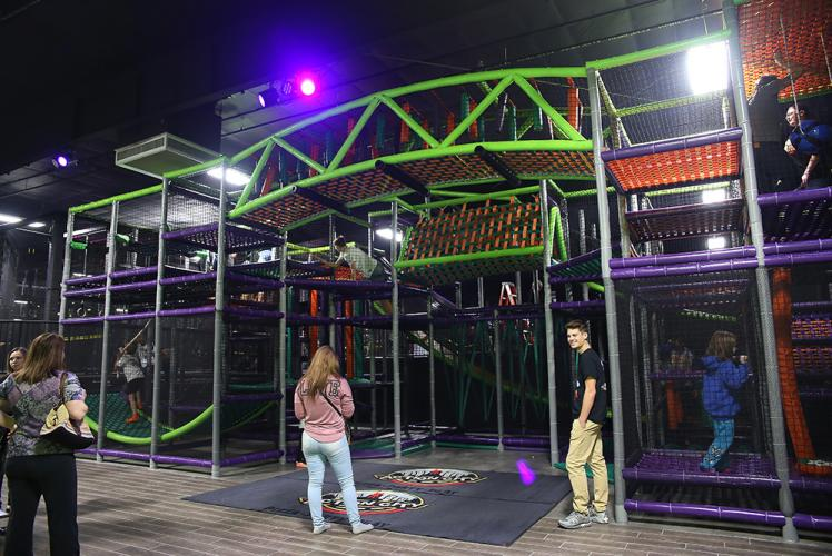 Action City Trampoline Park & Fun Center indoor playground overview