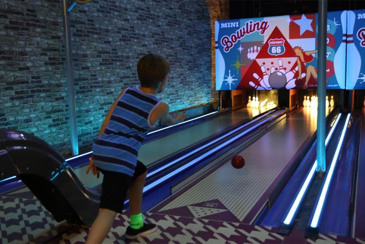 Action City mini bowling at Metropolis Resort