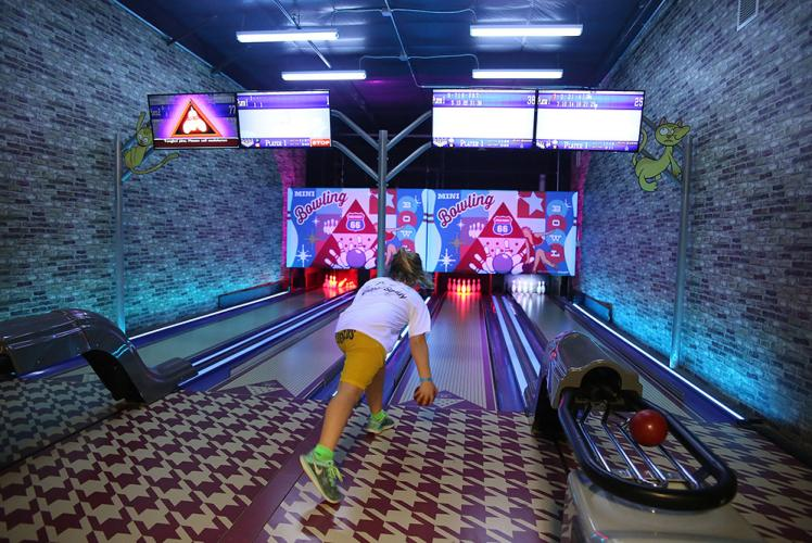 Action City Trampoline Park & Fun Center mini bowling
