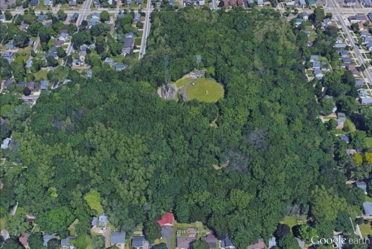 Mount Tom park aerial