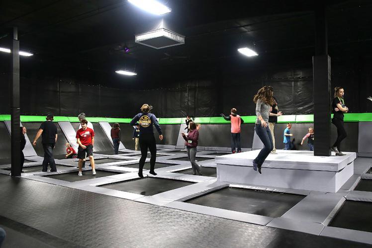 Action City open jump at Metropolis Resort