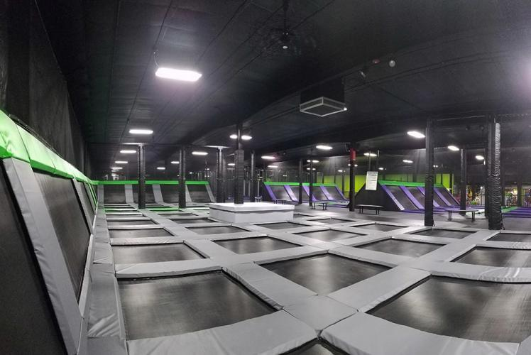 Action City Trampoline Park & Fun Center open jump