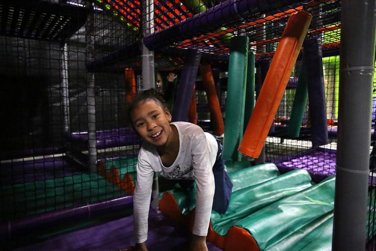 Action City Trampoline Park & Fun Center playground