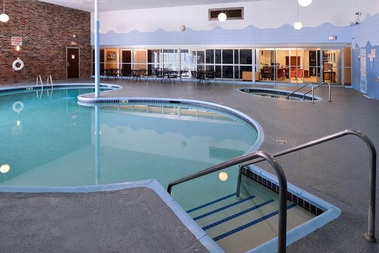 Americas Best Value Inn Campus View Whirl Indoor Pool in Eau Claire, Wisconsin
