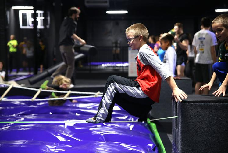 Action City Trampoline Park & Fun Center slack line