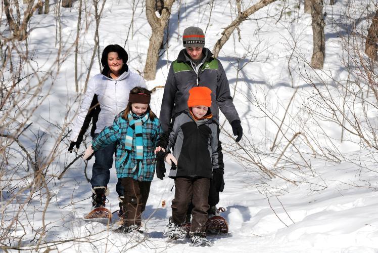 Beaver Creek Reserve Snowshoeing