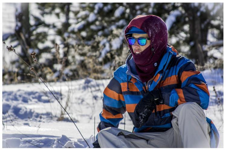 Jacob Taylor Photography - Snowboard Portrait