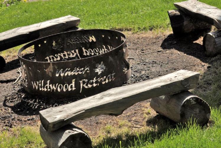 white's wildwood retreat center reunions fire pit