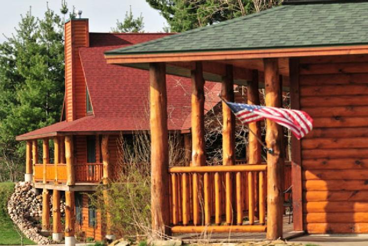Vaction Homes at White's Wildwood Retreat in Chippewa Falls, Wisconsin