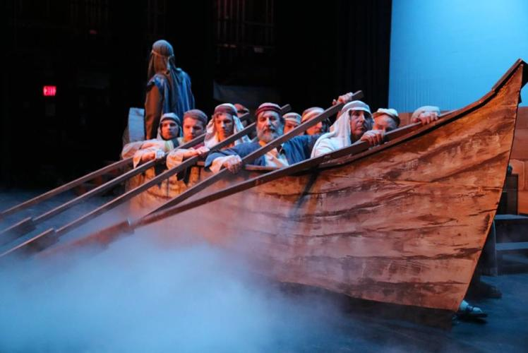 Scene and Hurd Productions: Actors in a boat