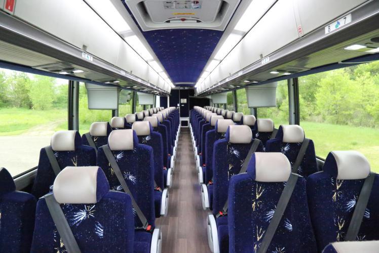 Inside Motor Coach