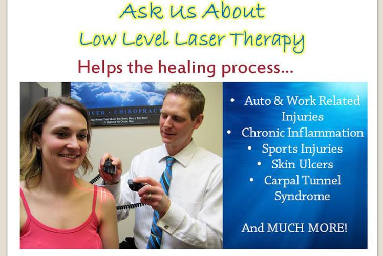 Laser Therapy at Stucky Chiropractic Center