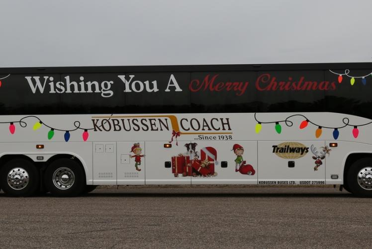 Christmas Motor Coach