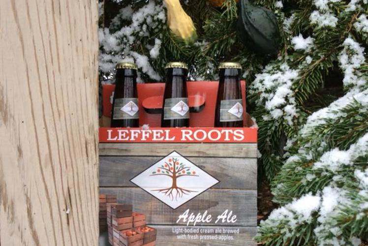 Leffel Roots Apple Orchard's Apple Ale - Eau Claire WI