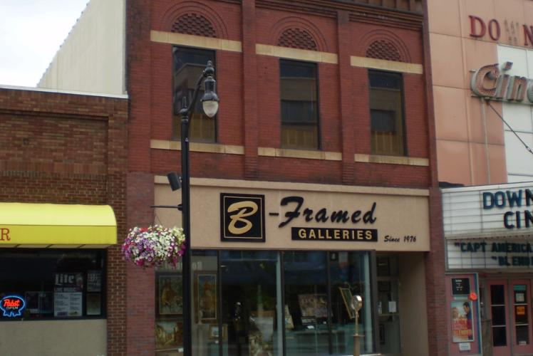 B~Framed Galleries - Store Front