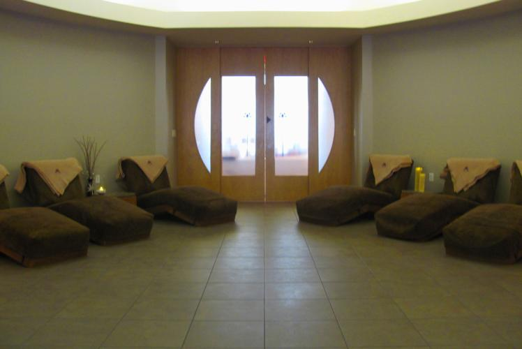 Lotus Spa seating in Eau Claire, WI
