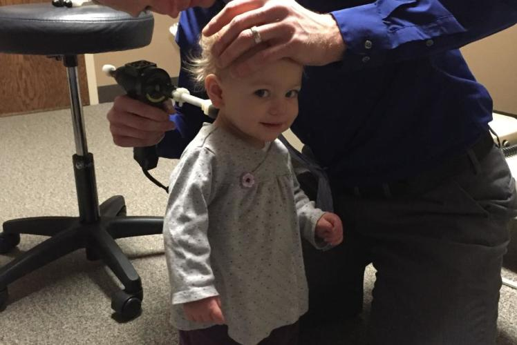 Dr. Kyle Instrument Adjustment With A Toddler