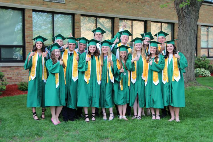 Regis Catholic School Eau Claire, Wisconsin Graduation