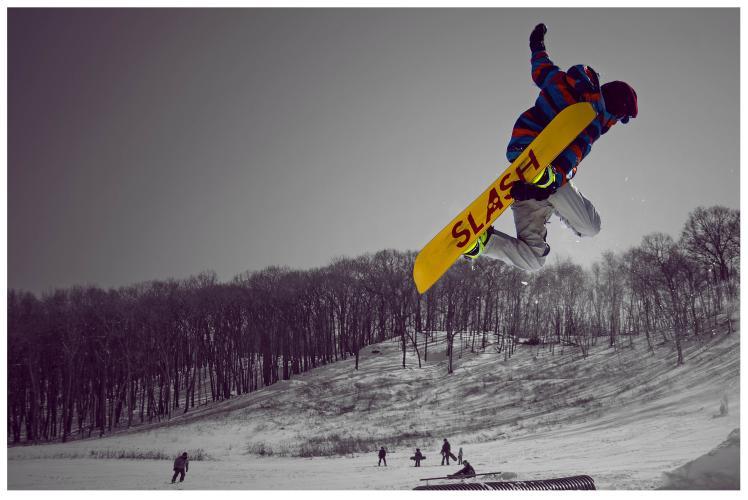 Jacob Taylor Photography - Snowboard Jump